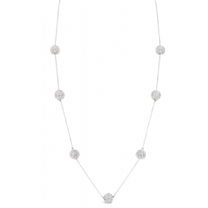 Imitation Rhodium Necklace